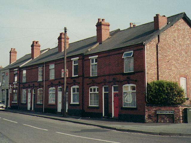 Typical examples for Whats a terraced house